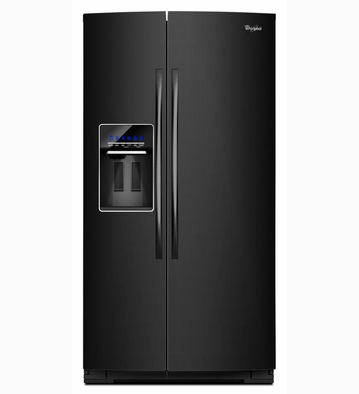Whirlpool Refrigerator Brand Black Gsc25c6eyb Refrigerator