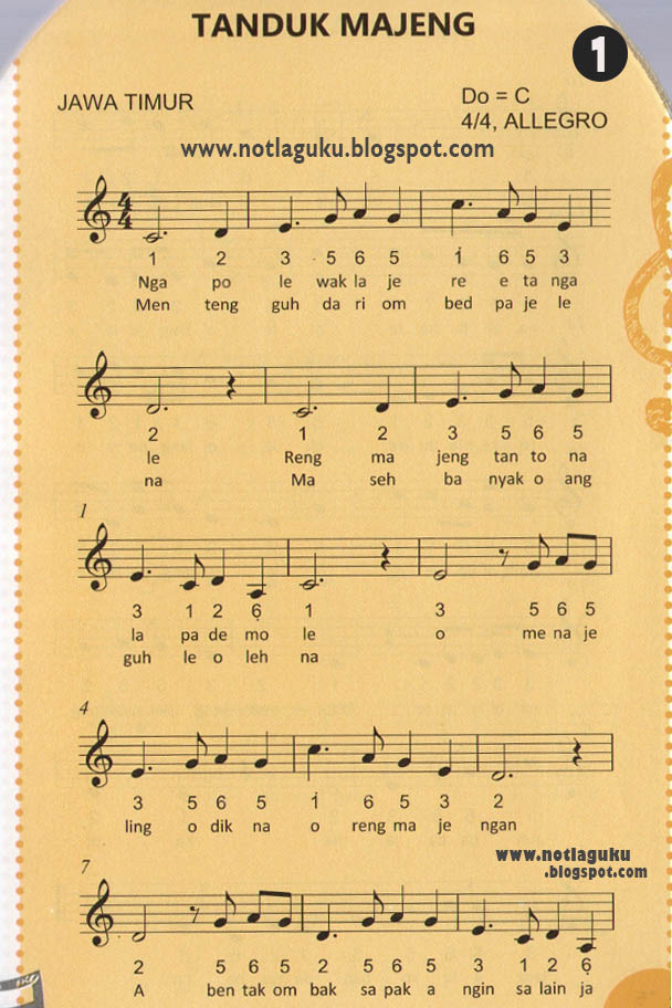 Lirik Lagu Tanduk Majeng : lirik, tanduk, majeng, SMANSA, BANJAR, BARU:, Angka, Tanduk, Majeng