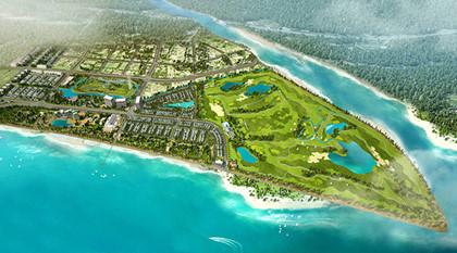 Phối cảnh Quần thể khu du lịch nghỉ dưỡng sân Golf  FLC Hạ Long