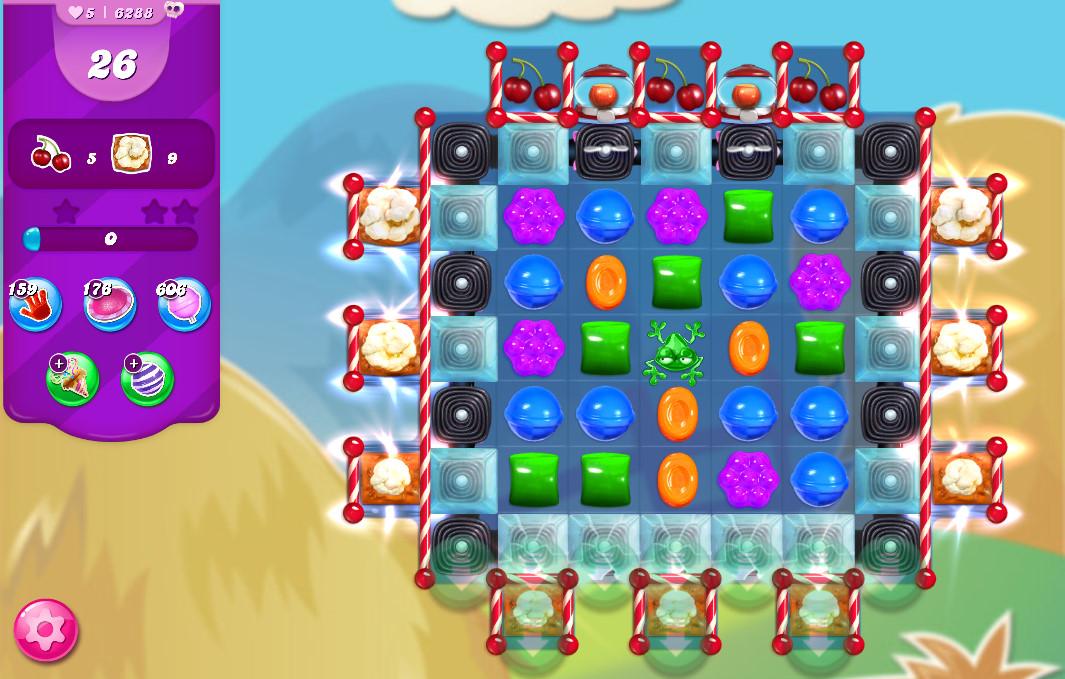 Candy Crush Saga level 6288