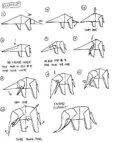 Elephant Dollar Origami Pdf