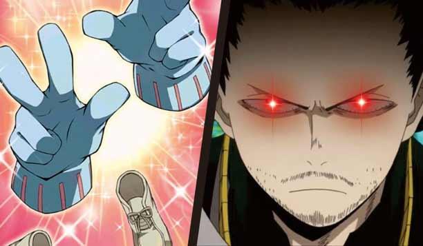 Wajah asli Toru Hagakure dan Quirk Eraser Head