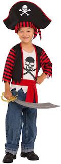 Boys Little Pirate Child Costume