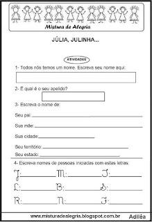 Cordel Júlia, Julinha