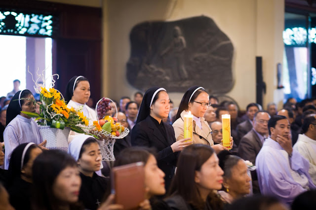 Lễ truyền chức Phó tế và Linh mục tại Giáo phận Lạng Sơn Cao Bằng 27.12.2017 - Ảnh minh hoạ 38