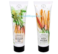 Logo Hands on Veggies: vinci gratis Energizing Set Carrot & Coconut