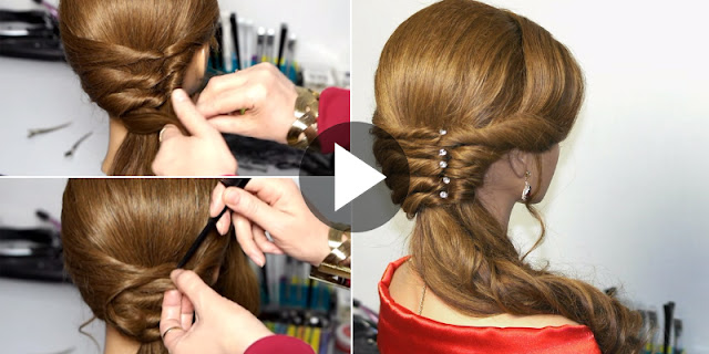 Learn - How To Create Easy And Quick Wedding Hairstyle, See Tutorial
