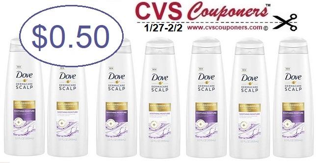 http://www.cvscouponers.com/2019/01/dove-dermacare-shampoo-050-CVS.html