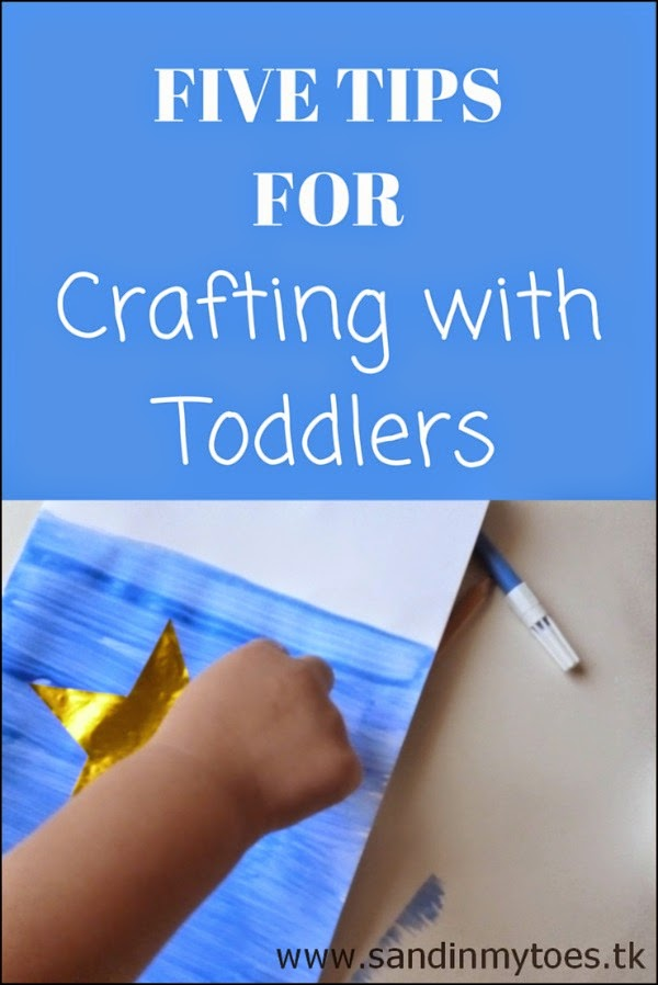 Five tips for crafting with toddlers