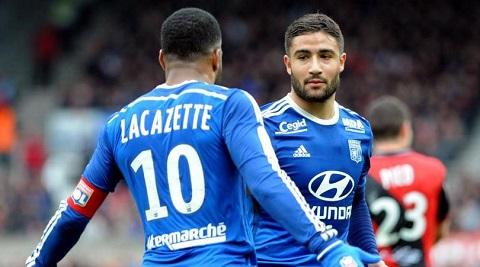 Cặp đôi phối hợp ăn ý mang về thành công cho Lyon