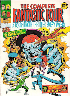 Complete Fantastic Four #25, Xemu