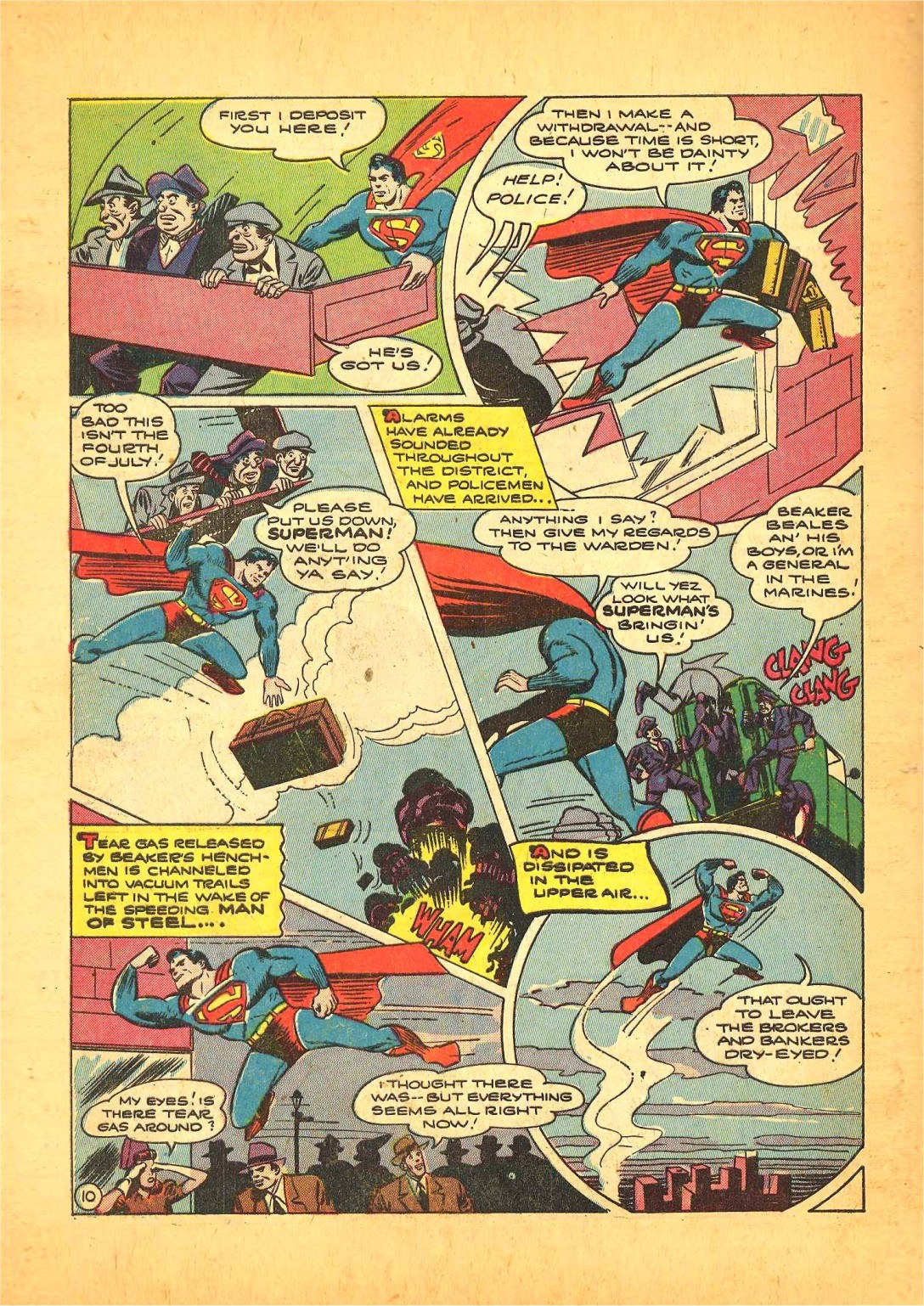 Read online Action Comics (1938) comic -  Issue #68 - 11