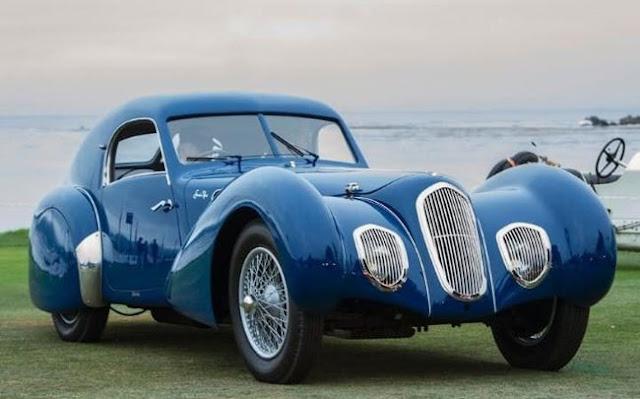 Talbot-Lago T150C-SS Pourtout Coupé