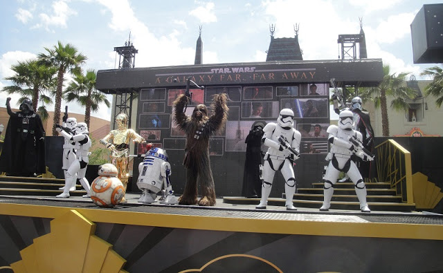 Presentaciones de Star Wars en Hollywood Studios