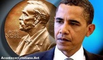 Premio Nobel de la Paz a Barack Obama