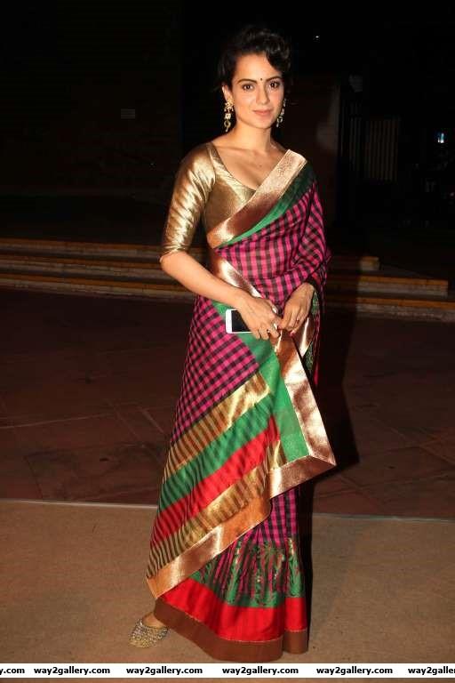 Kangana Ranaut was present at Shobha Des daughter Arundhati Des wedding reception