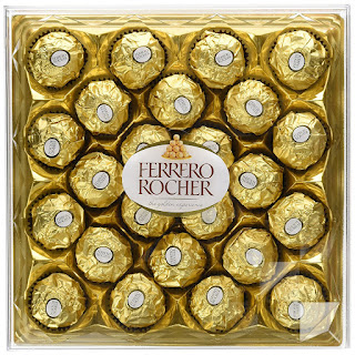 vegetarians chocolate : Ferrero Rocher, 300g (Pack of 3) 24 Pieces only £15.60