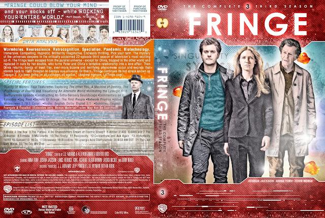 Fringe Season 3 DVD Cover