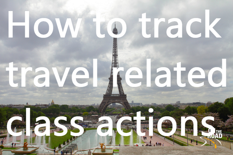 How to track down travel related class actions