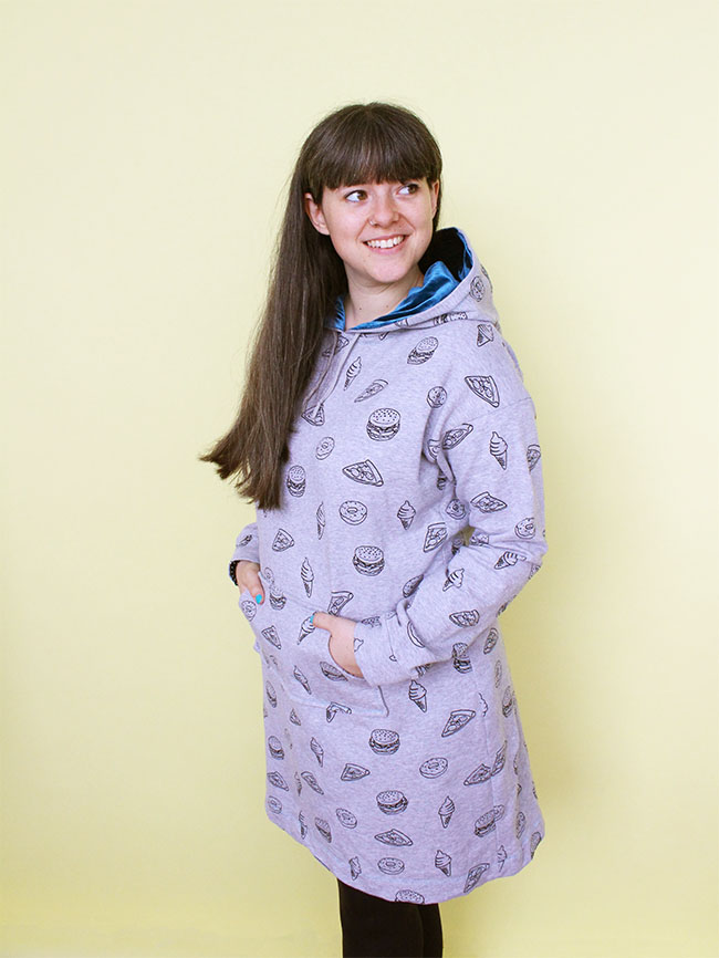 Jenny Stella Hoodie Sewing Pattern by Tilly and the Buttons