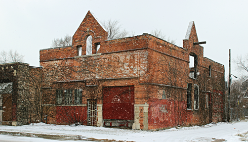 abandoned detroit michigan buildings