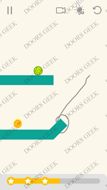 Draw Lines Level 43 Solution, Cheats, Walkthrough 3 Stars for Android and iOS