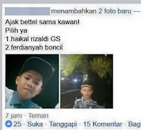 Tukang Battle di Facebook