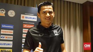 Bobotoh Dukung Kiatisuk Senamuang Pelatih Baru Persib