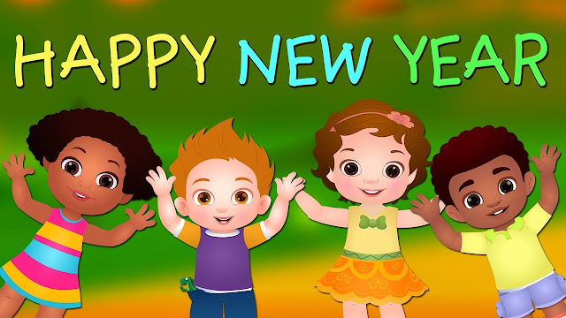 Happy New Year Wallpapers with Cartoon pictures