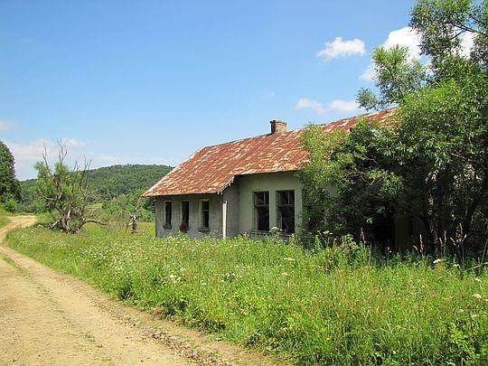 Budynek dawnej szkoły wybudowany w 1912 roku.