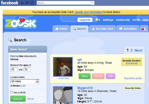 Tecnologias na Sala de Aula: Zoosk: uma rede social romântica.