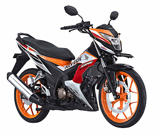 Harga New Honda Sonic 150R Repsol Special Edition April 2016