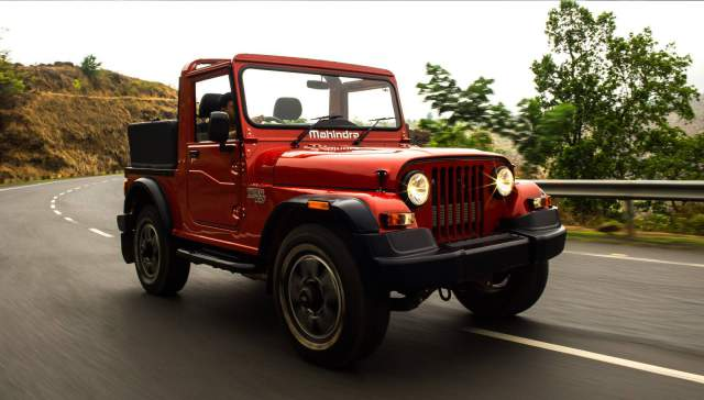 Mahindra Thar on the way