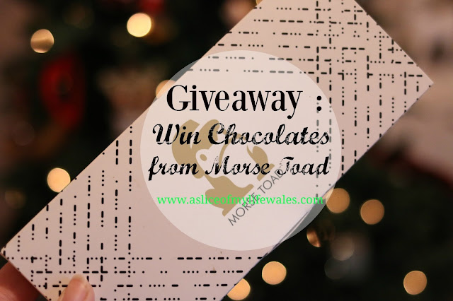 free competition to win a £15 voucher code to spend at Morse Toad - personalised chocolate card gifting website