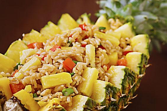 Tasty Thai Food Recipes Thai Pineapple And Shrimp Fried Rice Recipe