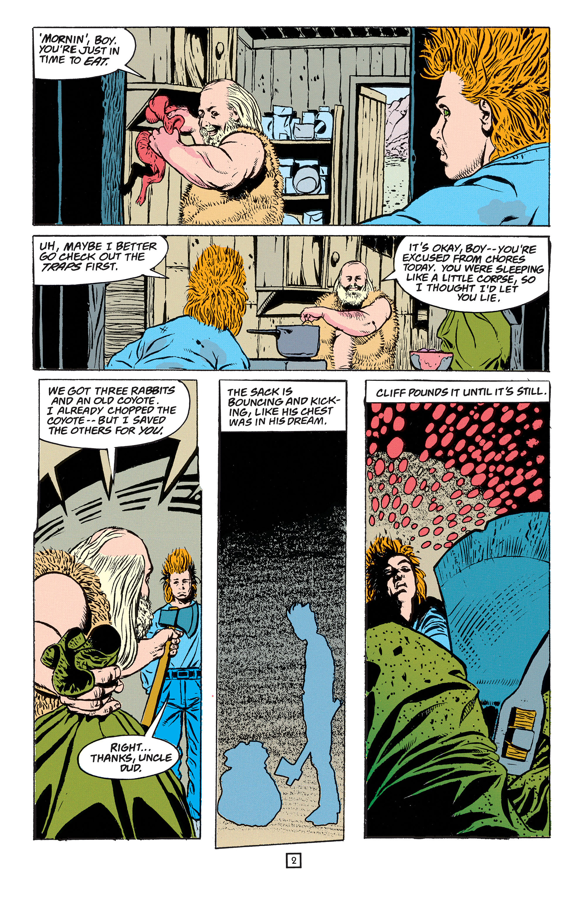Read online Animal Man (1988) comic -  Issue #55 - 3