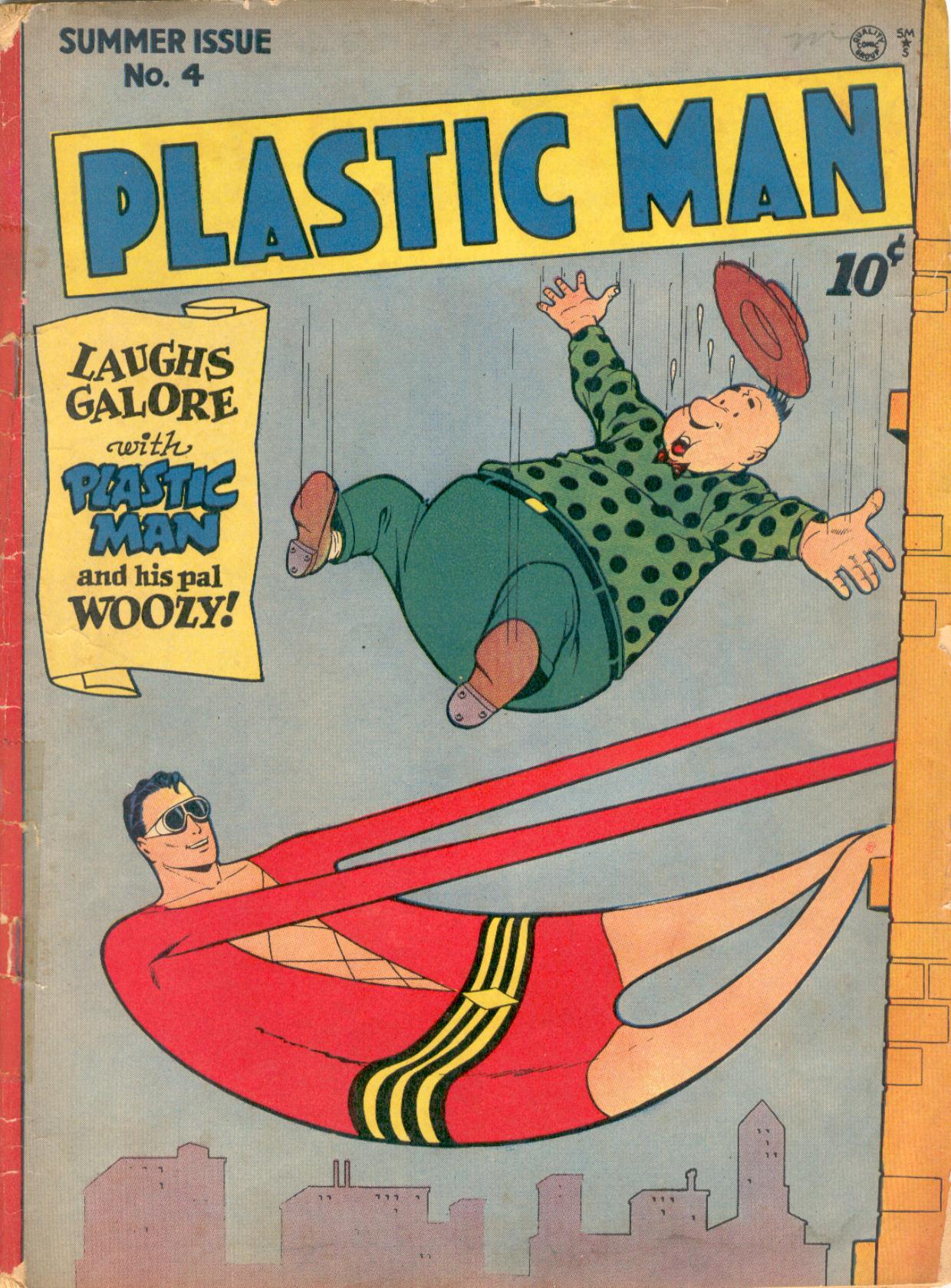 Plastic Man (1943) 4 Page 1