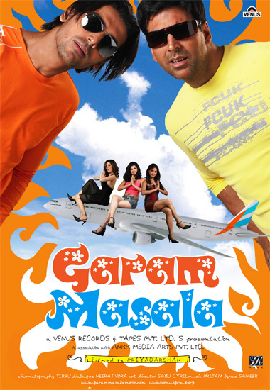 Garam Masala 2005 Hindi Dvdrip 480P 400Mb-3343