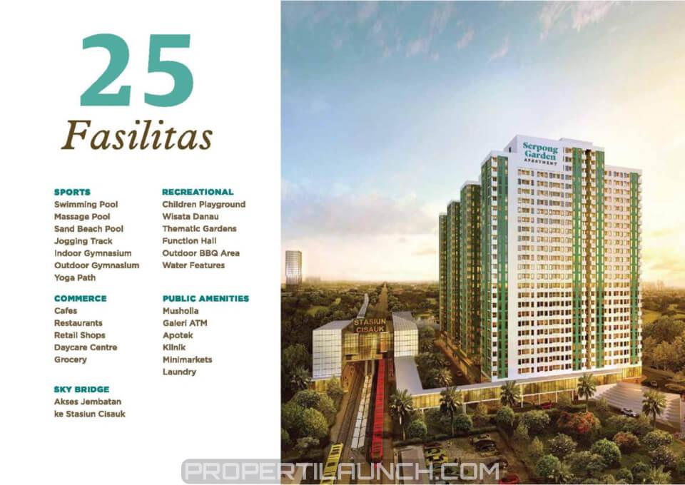 25 Fasilitas Serpong Garden Apartment