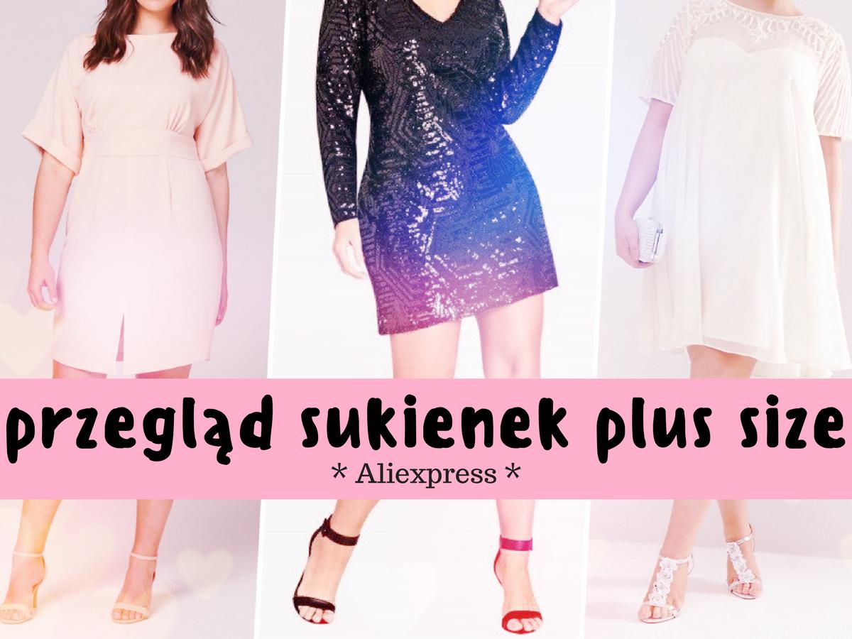 sukienki plus size z aliexpress