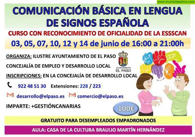 Curso Comunicación Básica en Lengua de Signos Española en El Paso