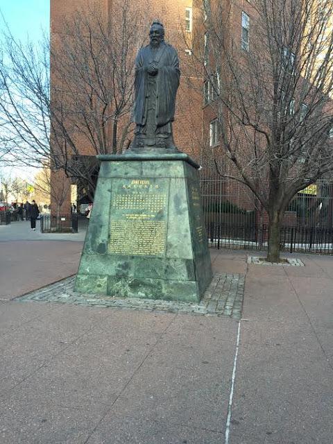 Confucius Statue, Chinatown Manhattan