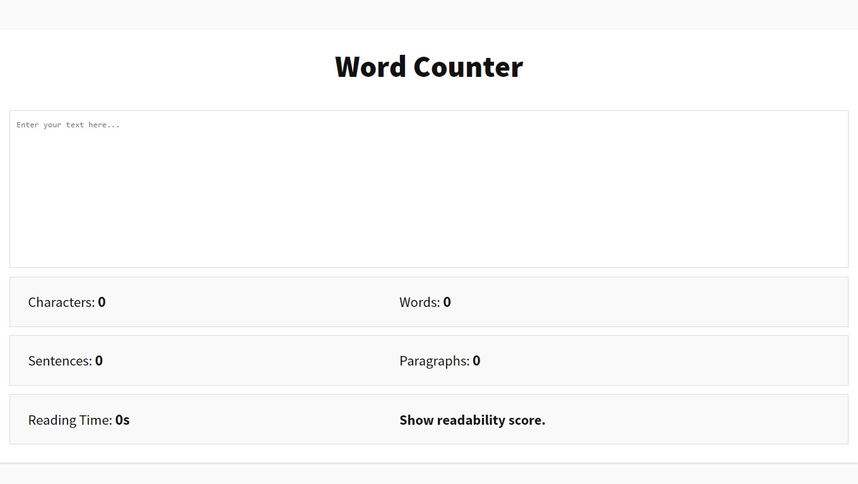 Hasil gambar untuk gambar aplikasi wordcounter