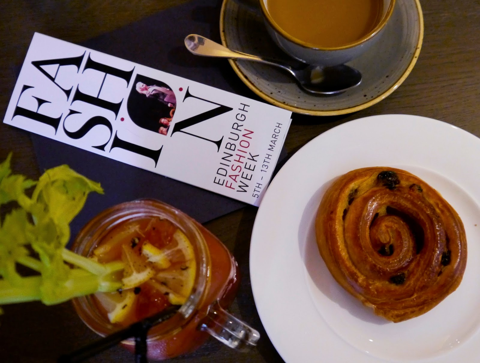 The Printing Press, Edinburgh Bloggers, Edinburgh Fashion Week, brunch