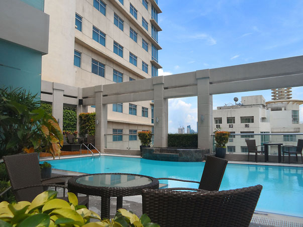 Essential metro manila hotels for staycation part 4 for Garden city swimming pool