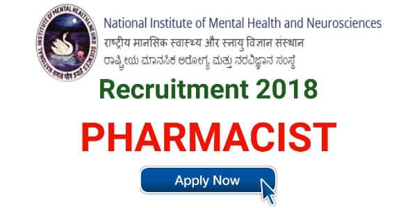 nimhans pharmacist recruitment,banglore,pharmacist job