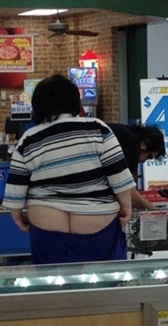 Funny Fat Women in Walmart