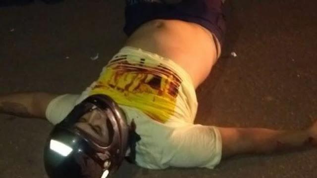 Jovem que saía do trabalho bate em caminhão parado e morre