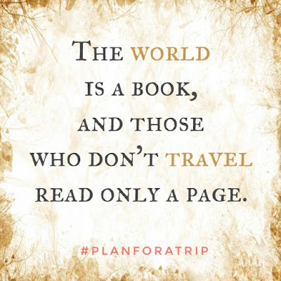 those who don't travel read only a page