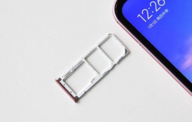 Redmi 6 Pro Slot SIM Tray Non Hybrid.png